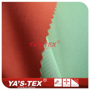 Four-way stretch fabric composite mesh