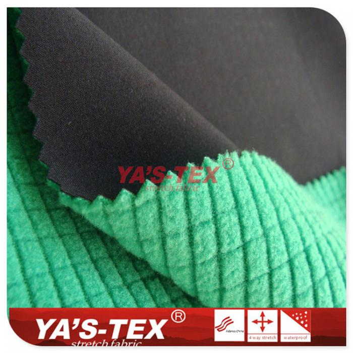 Four-way stretch fleece composite Fancy