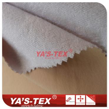 Four-way stretch composite small terry cloth