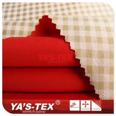 Knitted complex color film, polyester polyester film, riding suits down jacket fabric, double composite