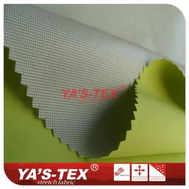 Four-way stretch composite coating