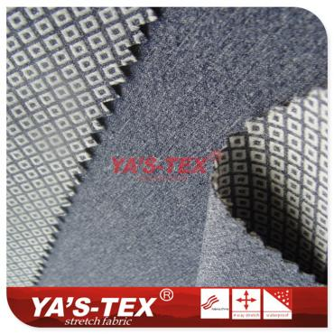 polyester weft direction stretch