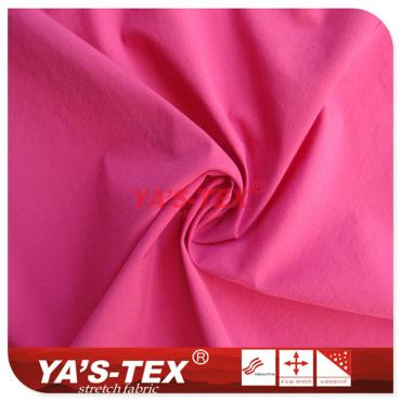 Nylon four-way stretch, plain weave, cloth skin clothing sunscreen fabric, waterproof wear-resistant nylon spinning