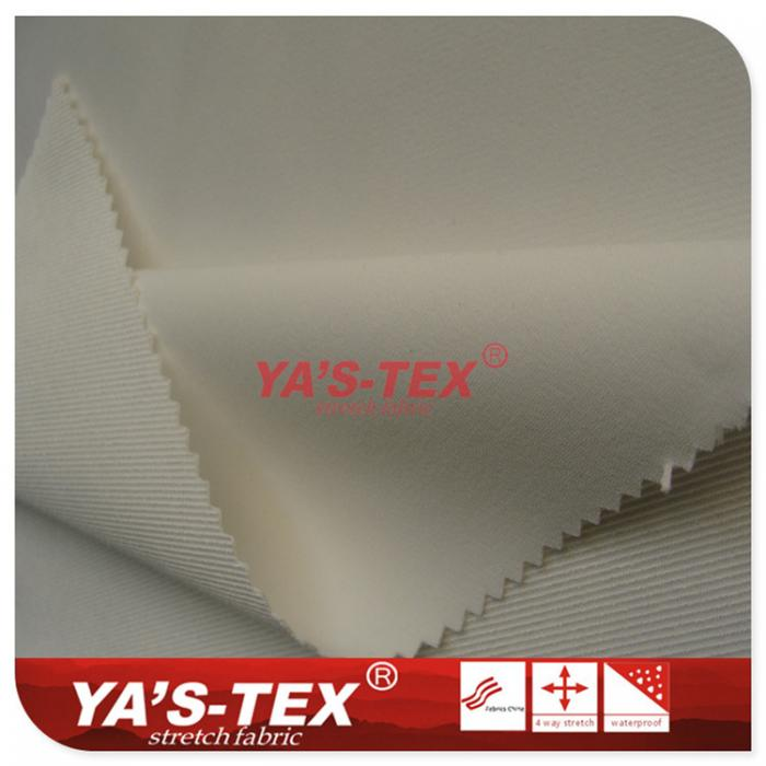 Polyester four-way stretch, single-sided twill, anti-skid anti-radiation function, luggage cloth industry with fabric
