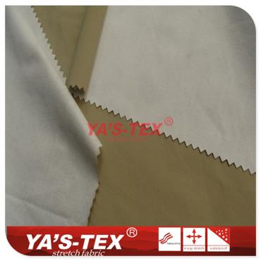 Nylon four-way stretch composite PTFE