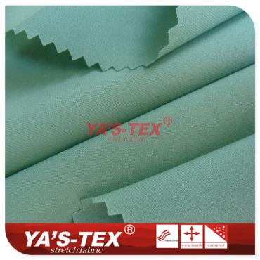 Polyester four-way stretch, translucent