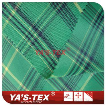 Yarn-dyed jacquard cloth