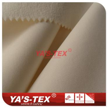 Four-way stretch fabric composite fleece