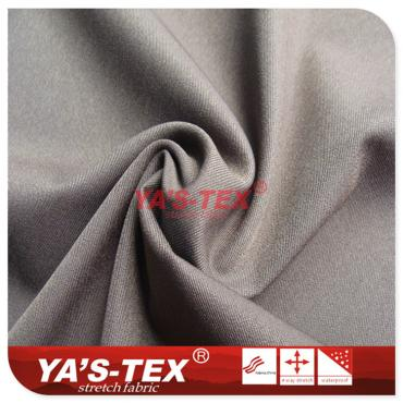 Double-sided twill nylon four-way stretch