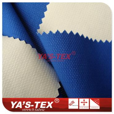 Nylon mesh stretch cloth PU film
