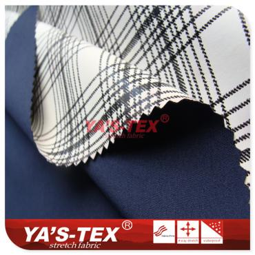 Polyester four-way elastic composite TPU