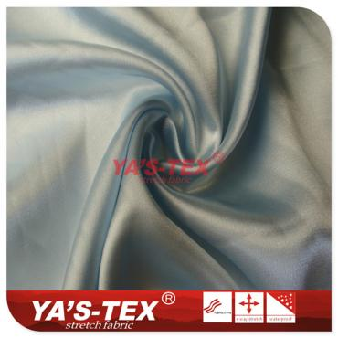 Polyester weft elastic cloth, light folds