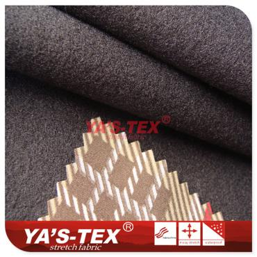 Printing polyester four-way stretch composite fleece