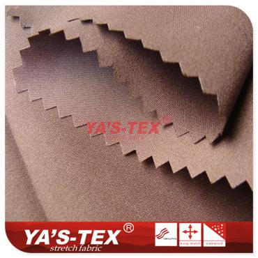 Polyester weft stretch, ultra-thin breathable elastic cloth