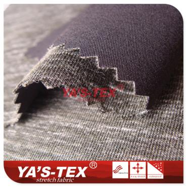 Polyester composite knitted cationic cloth, hair feeling