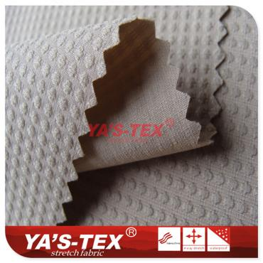 Polyester and non-stretch wear-resistant fabric, high elastic yarn