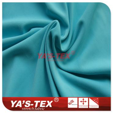 Weft knitted nylon 70D matte / light-colored cloth