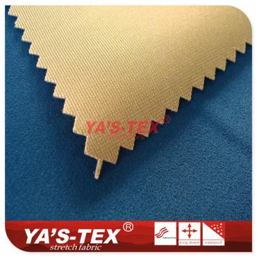 Polyester four-way stretch composite knitted fabric