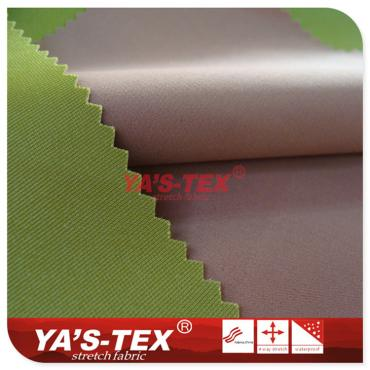 Polyester four-way stretch composite knitted fabrics