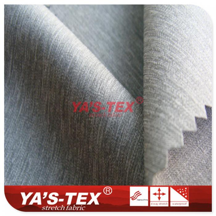 Polyester non-elastic cloth, cationic style