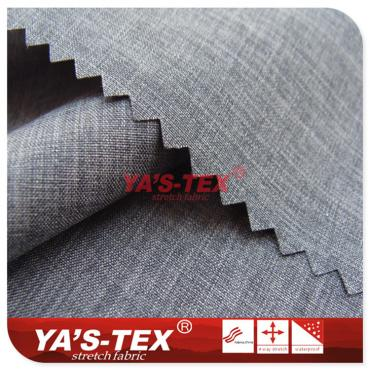 Ultra-thin polyester non-elastic, two-color cation