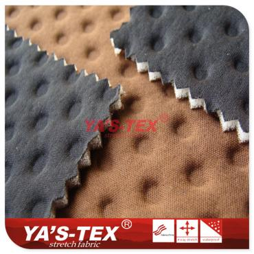 Polyester knitted four-way stretch composite sponge