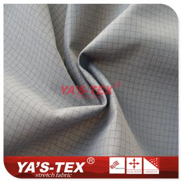 Tricot composite polyester plaid cloth