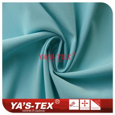 Polyester four - way stretch, linear jacquard wear - resistant cloth