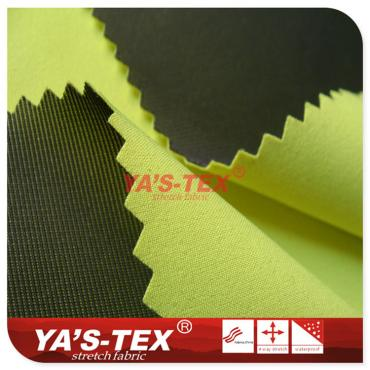 Fluorescent four-way stretch composite ultra-fine mesh, Tricot