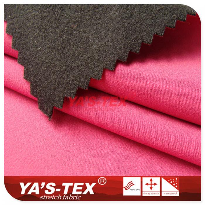 Nylon four-way stretch composite hair cloth
