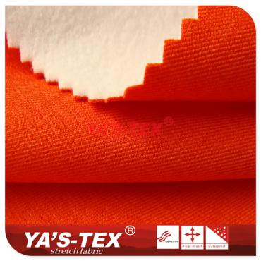 Twill polyester non-stretch composite hair cloth