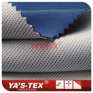 Four-way stretch composite yarn-dyed knitted fabrics