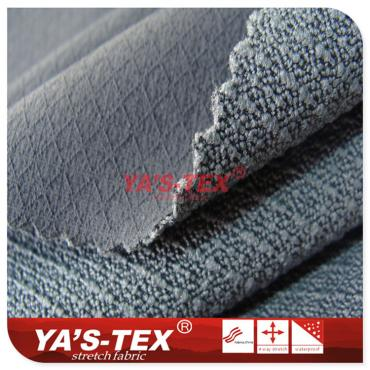 Nylon polyester blended four-way stretch