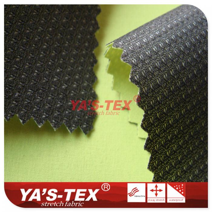 Nylon Four-way stretch three-layer composite fabric