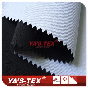 Polyester four-way elastic composite Tricot