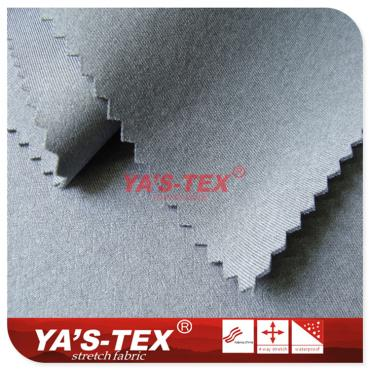 Cationic knitted composite fabric, three-layer composite soft shell