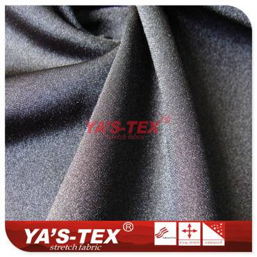 Bright warp polyester cloth, wear-resistant