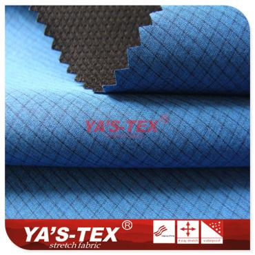 Ultra-thin soft shell composite fabric, polyester lattice without stretch
