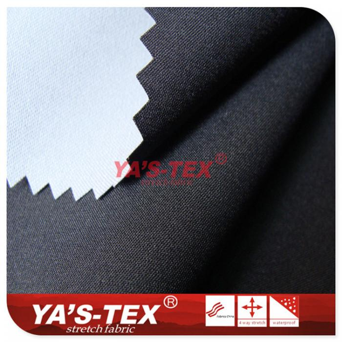 50D polyester four-way stretch composite knitted fabric
