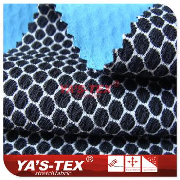Three-layer composite fabric, 100D encryption four-way elastic