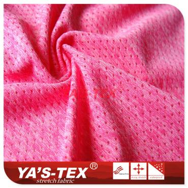 Polyester knitted mesh cloth, cationic style