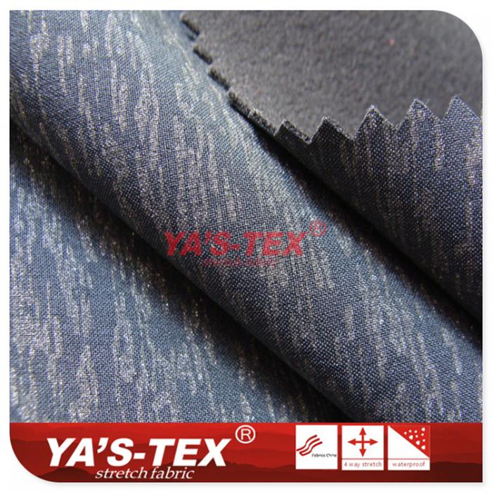 polyester four-way stretch composite ultra-fine fleece, reflective printing