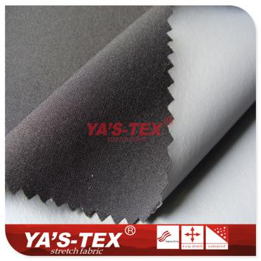 Two-layer composite fabric, polyester four-way stretch composite gray film