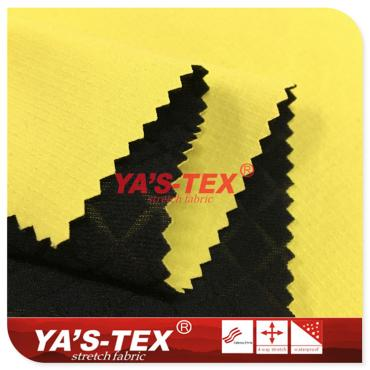 Polyester doublet lattice four-way stretch compound embossing (drawing/fancy) fleece