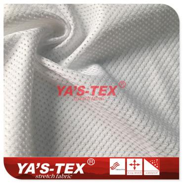 Mesh cloth, polyester knitted stretch