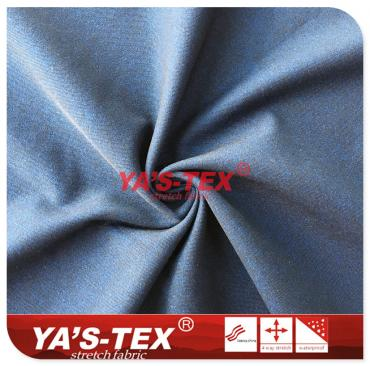 Polyester twill cationic mountaineering cloth, no stretch