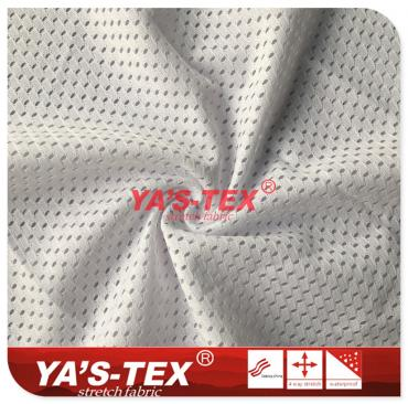 Knitted mesh cloth, polyester, oval mesh