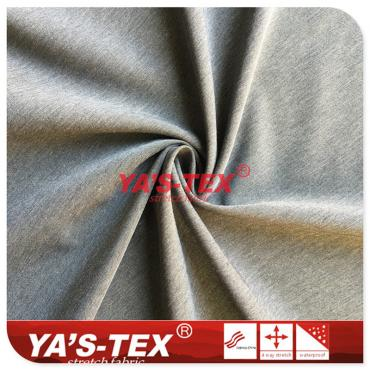 Nylon polyester blend four-way stretch, 30D nylon 20D twist spandex