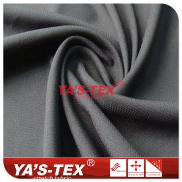 50D polyester non-elastic fabric, small diamond plaid