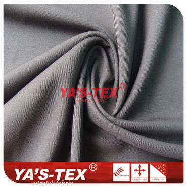 50D polyester twill non-stretch fabric